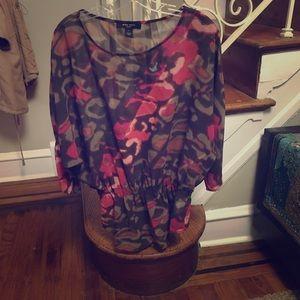 Nine West jeans blouse
